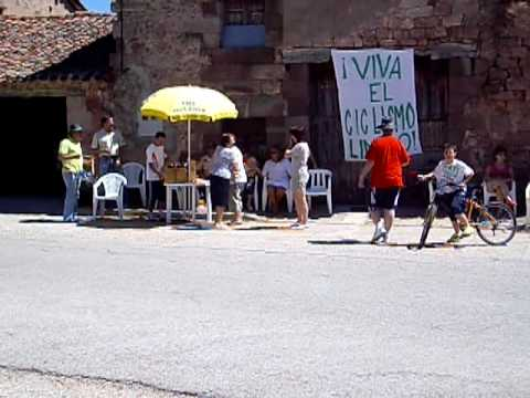 Recepción para la vuelta ciclista a Burgos