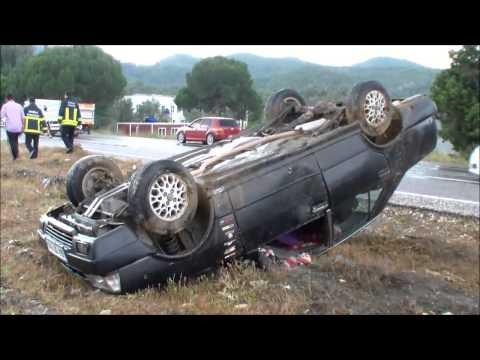 4 Haziran Milas Söke Karayolu kaza 3 yaralı