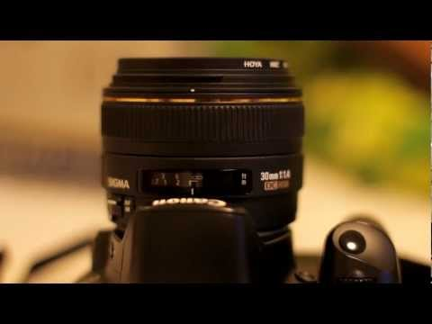 f1.4 - The Sigma 30mm f1.4 is a popular lens for a lot of reasons. Everyone wants f1.4...and 30mm is a focal length you can use for just about anything - wide enoug...