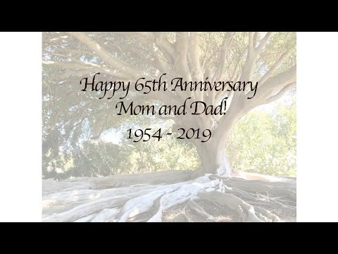 Bob and Joni Fitts's 65th Anniversary Love Messages