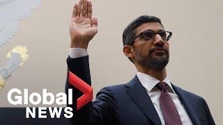 Video LIVE: Google GEO testifies to Congress on user data privacy MP3, 3GP, MP4, WEBM, AVI, FLV Desember 2018