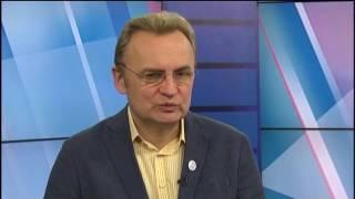 Перший Західний: телемарафон до річниці Незалежності України. Гість – Андрій Садовий.
