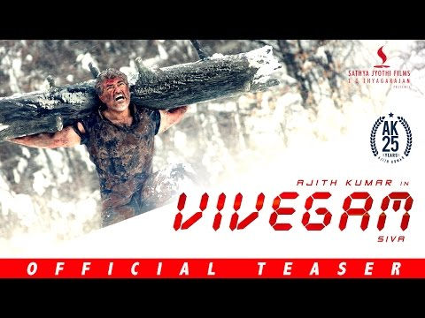 Thala Ajith's Vivegam Teaser Official - Watch Youtube Vivegam Trailer