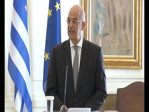 Ν. Δένδιας:Διερευνητικές επαφές δεν μπορούν να υπάρξουν με το Όρουτς Ρέις στην ελληνική υφαλοκρηπίδα