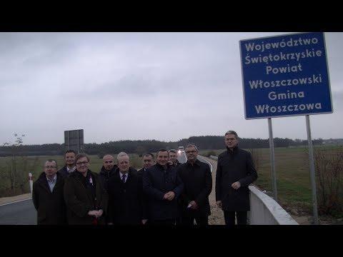 Otwarcie II etapu drogi wojewódzkiej 785 Kurzelów- Maluszyn