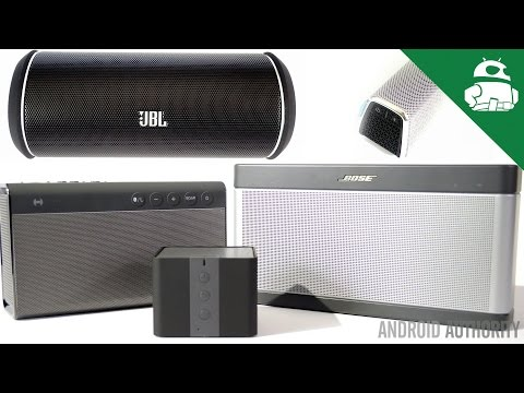 speakers - Kristofer Wouk from Sound Guys takes a look at some of the best Bluetooth speakers of the year. Buy from Amazon: Bose SoundLink 3: http://geni.us/bosesoundlink3 Creative Sound Blaster Roar:...