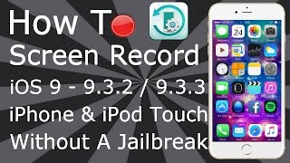 How To Screen Record iOS 9 - 9.1 / 9.2 FREE NO Jailbreak iPhone & iPod Touch, ios 9, ios, iphone, ios 9 ra mat