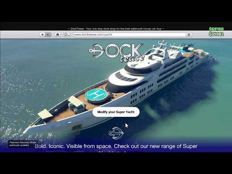 Galaxy Super Yacht: Aquarius Review GTA Online