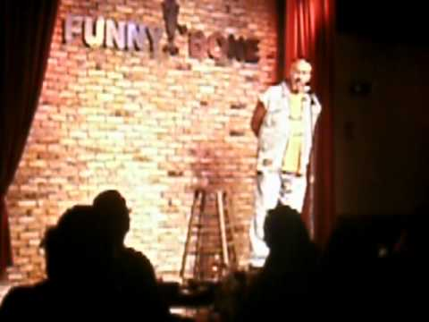 Chopper Charlie performing Biker Comedy at the Funnybone in Newport,KY/Taped by Biker Rev.