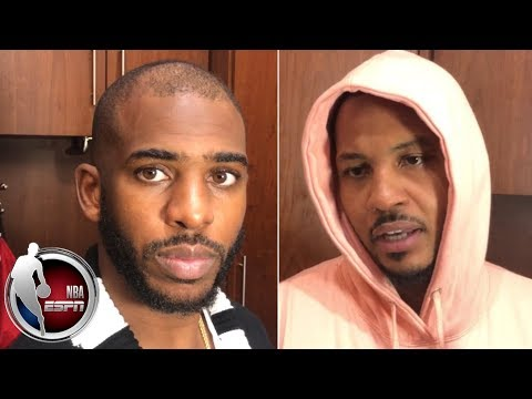 Video: 'I just can't throw the ball in the ocean'- Chris Paul on shooting struggles | NBA on ESPN