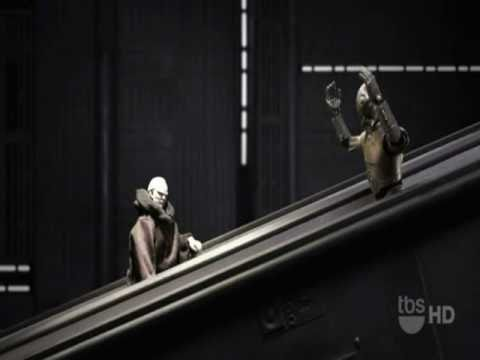 Robot Chicken Star Wars Escalator