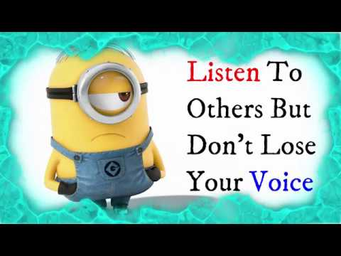 Quotes about happiness - Do But Don't... // Quotes About Life - Minion Version // Whatsapp Status Video