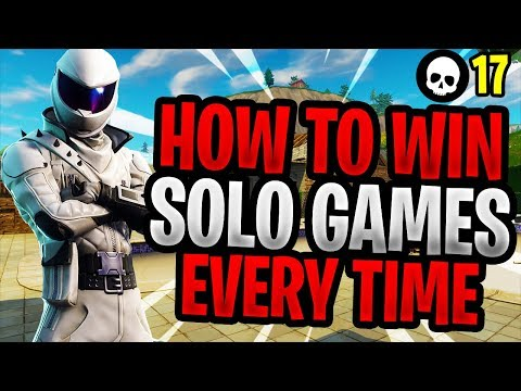 How To EASILY Win More Solos In Season 5! (Fortnite Battle Royale Solo Tips) (видео)