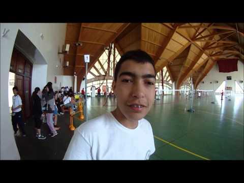 Badminton tournament 2014