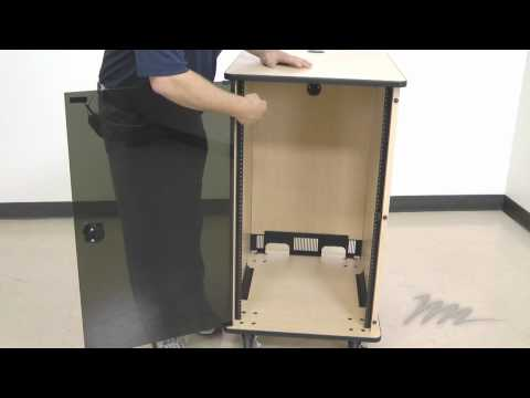 Mfr Series Mobile Furniture Rack