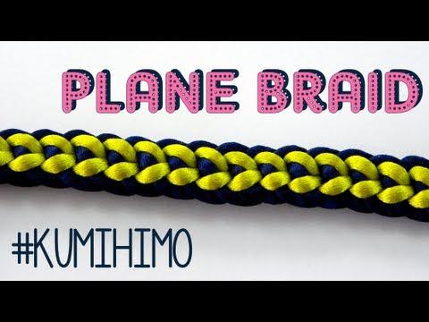 KUMIHIMO PLANE - KUMIHIMO PLANO