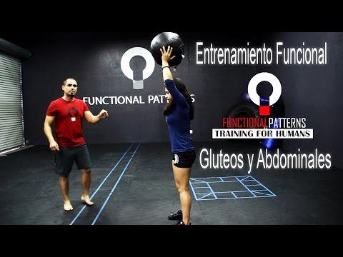 Entrenamiento funcional para los gluteos y abdominales