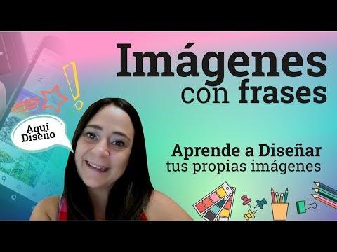 Frases para fotos - Cómo crear imágenes con frases personalizadas  Canva.com Tutorial