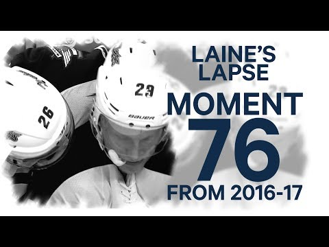 Video: No. 76/100: Laine fires one into his own net