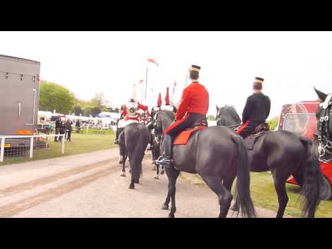 Horse Guards at Windsor Horse  Show