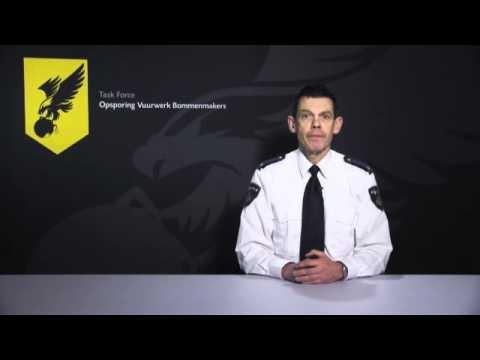 Campagnefilmpje van Task Force Opsporing Vuurwerk Bommenmakers