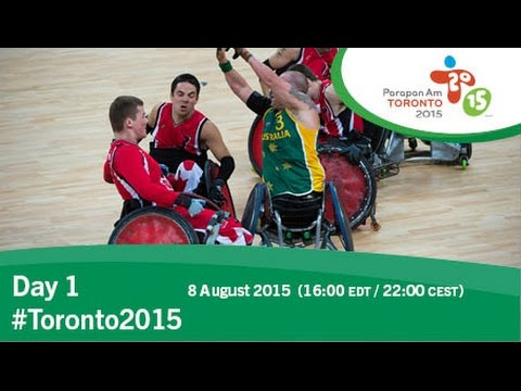 Webcast from Toronto 2015 Parapan Am Games