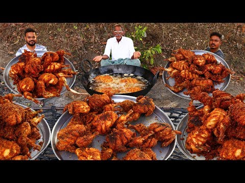 WHOLE KFC CHICKEN | KFC FULL CHICKEN RECIPE | GRANDPA KITCHEN - Thời lượng: 12:49.