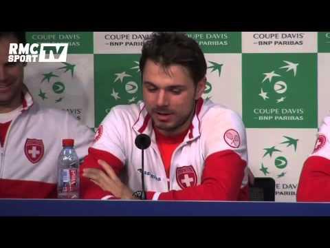 Tennis / Coupe Davis - Wawrinka