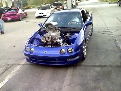 Acura Integra packs blown 454 big block