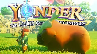 Welcome to Yonder: The Cloud Catcher Chronicles Part 1! Yonder: The Cloud Catcher Chronicles is a game where you uncover the secrets of a mysterious island and become the island's champion! ► Support Blitz on Patreon: http://www.patreon.com/Blitzkriegsler- - - - - ► Watch the full Yonder: The Cloud Catcher Chronicles Gameplay Series - http://bit.ly/YonderLP- - - - -Yonder Game Overview:Yonder is set on the vast island of Gemea, a lush frontier with eight distinct environments ranging from tropical beaches to snow-capped summits. Each location has its own flora and fauna, along with changing seasons and a day-night cycle. Gemea, once a paradise, still maintains the appearance of one, yet an evil murk has enshrouded the land and its people in despair.As the hero you will explore Gemea, uncovering the islands secrets and the mysteries within yourself as you embark on a journey of self-discovery. On a quest to become the island's champion, you join forces with Sprites, creatures who are the only thing capable of dispersing the murk, to save Gemea and its people.The towns of Gemea are filled with kind-hearted residents who have faced many difficulties since the murk arrived. By contributing to the island through farming, crafting, cooking, fishing and brewing, relationships can be built with the locals, who offer everything from resources to a new farm as rewards.At the heart of Yonder, is a game that delivers a sense of discovery, wrapped in a familiar yet unique adventure.- - - - - Yonder Gameplay Features:►A vibrant open world full of things to discover and places to explore.►Set your own pace; trail-blaze across the world or settle down for a spot of quiet fishing and farming.►Extensive character customization.►Master professions like carpenter, chef, tailor and more to help the residents of Gemea.►Craft and trade items to solve puzzles as you banish the murk from the island.►Befriend and adopt endearing creatures.►Build and harvest multiple farms across 8 diverse bi