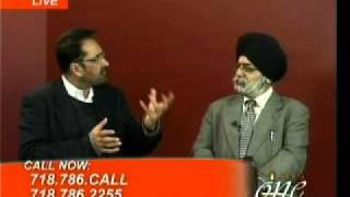 Janab Ahmed Mubark in conversation with Gurcharanjit Singh Lamba discusses Sheikh Saadi on JUS One, New York.