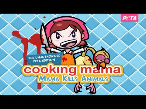 DISGUSTING!!! - (Twisted) Cooking Mama: Mama Kills Animals