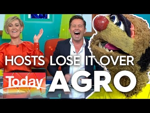 Agro's nude modelling joke has hosts in stitches | Today Show Australia