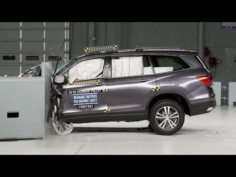 Honda Pilot 2016 obtiene el Top Safety Pick+ del IIHS