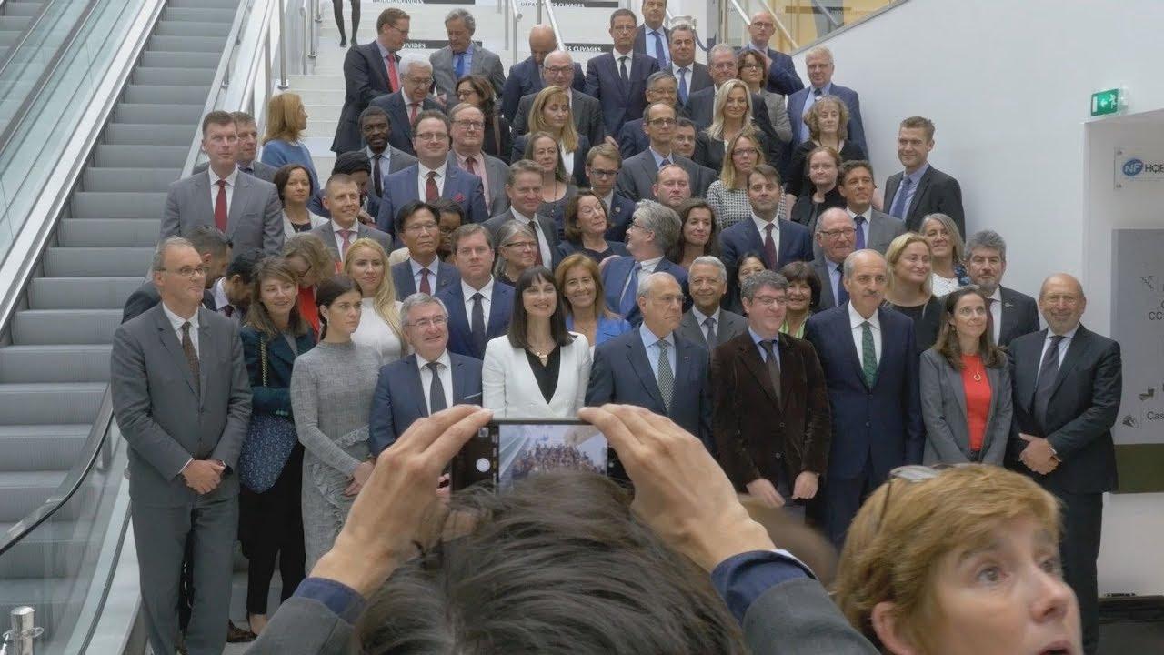 Η υπουργός Τουρισμού Έλενα Κουντουρά στον ΟΟΣΑ στο Παρίσι