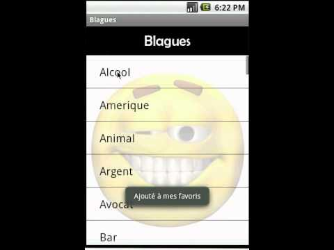 Video of Blagues - French Jokes
