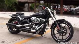 10. Used 2014 Harley Davidson Softail Breakout Motorcycles for sale Orlando FL