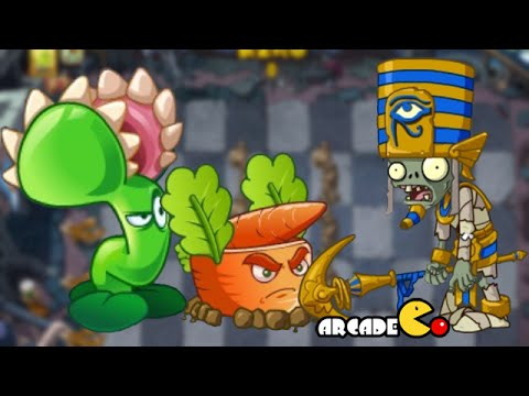 Plants Vs Zombies Online – Ancient Egypt Day 1- 3