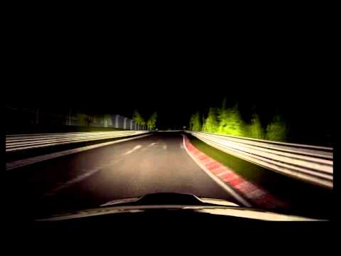 Nurburgring at Night with no Instuments or Map GT5