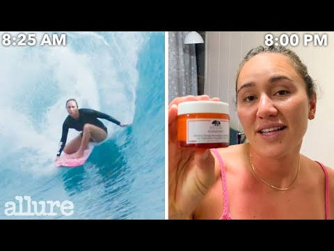 An Olympic Surfer's Entire Routine, from Waking Up to Hitting Waves | Allure