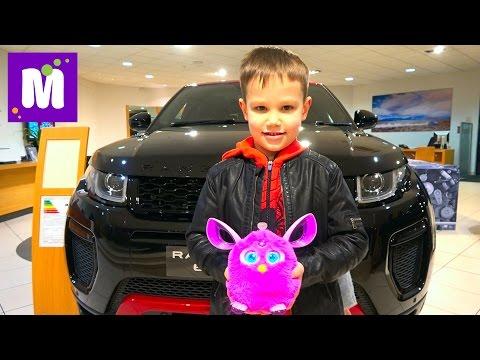 ВЛОГ Дикари в автосалоне Выбрали супер крутой автомобиль Ферби довел маму до белого околения - DomaVideo.Ru