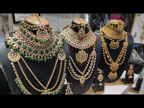 BRIDAL JEWELLERY SET | Artificial Jewellery Wholesale Market | Cheapest jewelry ever
