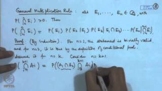 Mod-04 Lec-33 Laws Of Probability - II