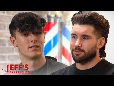CONFRONTING BRYCE HALL ABOUT HIS MISTAKES | Jeff's Barbershop