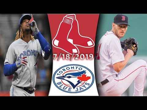 Toronto Blue Jays Vs Boston Red Sox | Game Highlights