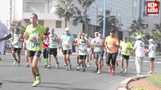 Reportage du Grand Marathon international de Casablanca 2014 avec HIT RADIO