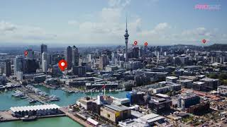 Proscaf in NZ - Auckland Scaff Projects from the Sky