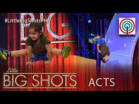 Little Big Shots Philippines: Arat   4-year-old Spiderboy
