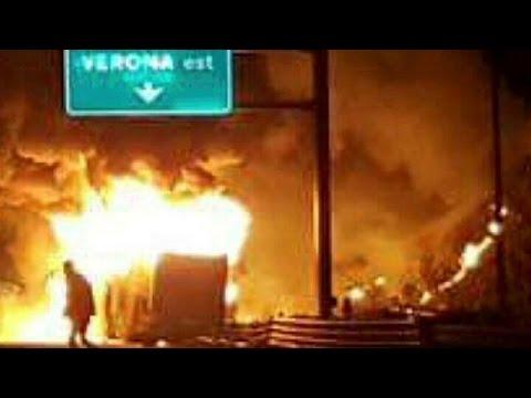 bus in fiamme su a4: 16 vittime accertate