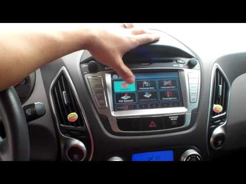 New Hyundai Tucson Limited Interior Review Two Tone Special Leather